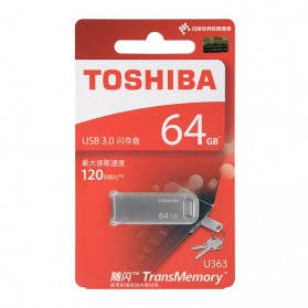 Toshiba Metal USB Flashdisk 3.0 64GB 120mb/s - THN-U363S0640C4 - 4