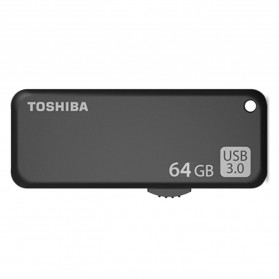 Toshiba Yamabiko USB 3.0 Flashdisk 64GB - THN-U365K0640C4 - Black - 2