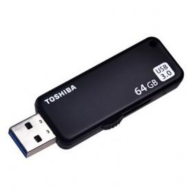 Toshiba Yamabiko USB 3.0 Flashdisk 64GB - THN-U365K0640C4 - Black - 3