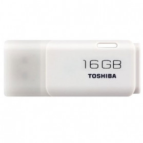 Toshiba Hayabusa USB Flash Drive 16GB - THN-U202W0160 (BULK PACKING) - White