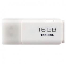 Toshiba Hayabusa USB Flash Drive 16GB - THN-U202W0160 - White