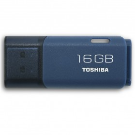Toshiba Hayabusa USB Flash Drive 16GB - THUNU48LA1PH1K - Blue