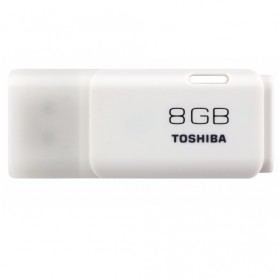 Toshiba Hayabusa USB Flash Drive 8GB - THN-U202W0080 - White
