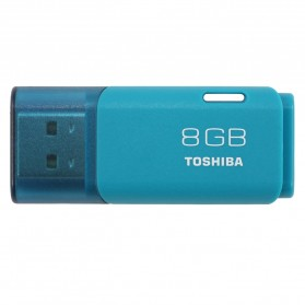 Toshiba Hayabusa USB Flash Drive 8GB - THUNU38LA1PH1K - Light Blue