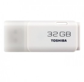 Toshiba Hayabusa USB Flash Drive 32GB - THUNU58LA1PH1K - White