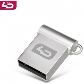 LD USB 2.0 Flash Drive Mini Waterproof V8 - 32GB - Silver