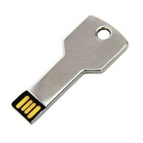 Mini Key Shape USB 2.0 Flashdisk 16GB - Silver