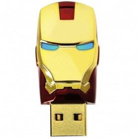 Iron Man Head USB 2.0 Flashdisk Model 2 - 8GB - Red
