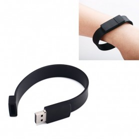 Gelang Silicone USB Flash Drive 32GB - PP8 - Black