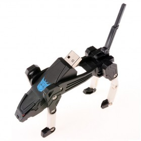 Transformer Ravage USB 2.0 Flash Drive - 16GB - Black - 3