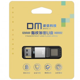 DM Flashdisk Enkripsi Fingerprint 32GB - PD061 - Black - 9