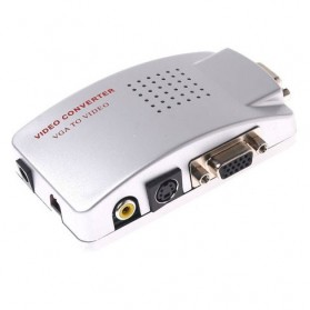 VZTEC PC to TV Converters Model (VZ-2269) - Silver