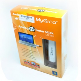 MyGica Analog TV Tuner Stick - U720 - White - 3