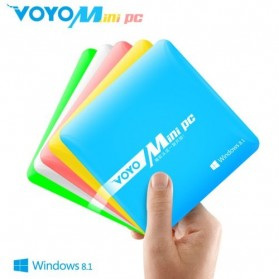 Desktop Mini PC / Intel NUC - VOYO Mini PC Dual OS Windows 8.1 & Android 4.4 2GB 64GB 4K Media Player - Blue