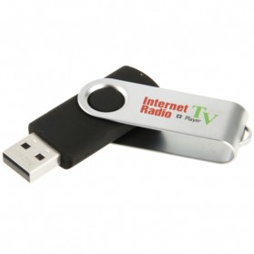 USB Worldwide Internet Radio & TV Player - Black - 3