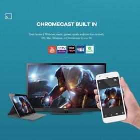 Xtreamer Dual Set Top Box DVB-T2 Media Player Android 9.0 4K - Black - 4