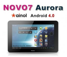 Ainol Novo 7 Aurora 8GB LG IPS HD Screen Android 4.03 - Black