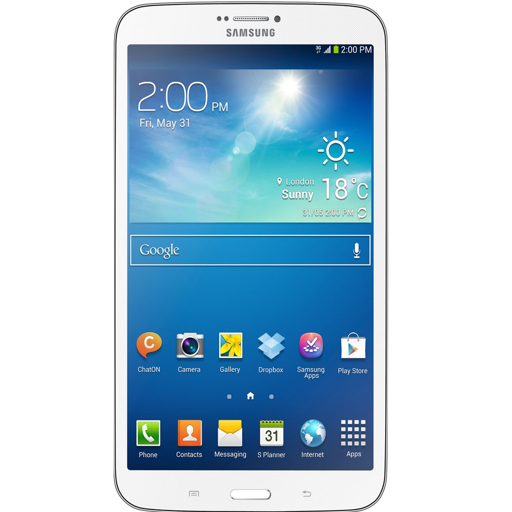 samsung galaxy tab 3 8 0 16gb sm t311 white. Black Bedroom Furniture Sets. Home Design Ideas