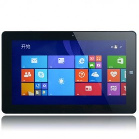 Chuwi Vi10 WiFi Dual OS Windows 8.1 + Android 4.4 Intel Cherry Trail Z8300 2GB 32GB 10.6 Inch Tablet PC - Black