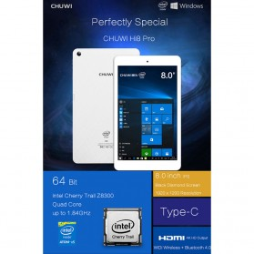 Chuwi HI8 Pro Dual OS Windows 10 & Android Type-C 2GB 32GB 8 Inch Tablet PC - White - 18