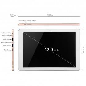 Chuwi HI12 2K Retina Display Windows 10 & Android 5.1 4GB 64GB 12 Inch Tablet PC - Gray - 4