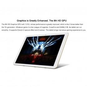 Chuwi HI12 2K Retina Display Windows 10 & Android 5.1 4GB 64GB 12 Inch Tablet PC - Gray - 12