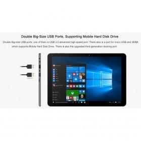 Chuwi HI12 2K Retina Display Windows 10 & Android 5.1 4GB 64GB 12 Inch Tablet PC - Gray - 14