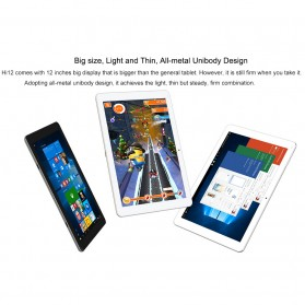 Chuwi HI12 2K Retina Display Windows 10 & Android 5.1 4GB 64GB 12 Inch Tablet PC - Gray - 19