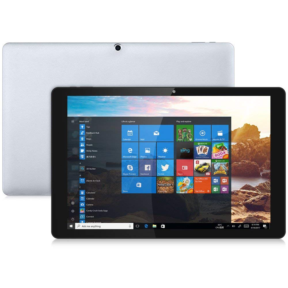 Chuwi Hi13 Tablet Pc N3450 4gb 64gb 135 Inch Windows 10 Silver Solder Paket Hemat 1