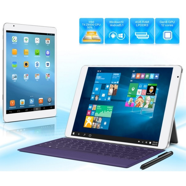 Teclast X98 Pro Dual Os Windows 10 Amp Android 5 1 64gb 9 7 Inch Hd Tablet Pc White
