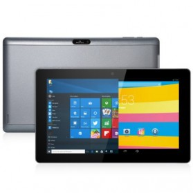 Cube i10 Tablet PC Dual OS Windows 10 & Android 2GB 32GB 10.6 Inch - Gray