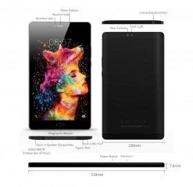 ALLDOCUBE X1 Tablet PC Helio X20 Deca Core 2K 4GB 64GB 8.4 Inch - Black - 7