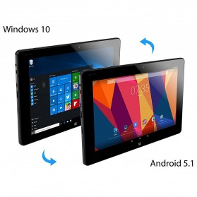 ALLDOCUBE iWork10 Pro Tablet Hybrid Intel Z8330 4G/64GB 10.1 Windows+Android - Black - 3