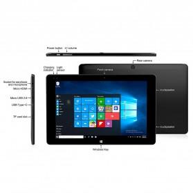 ALLDOCUBE iWork10 Pro Tablet Hybrid Intel Z8330 4G/64GB 10.1 Windows+Android - Black - 8
