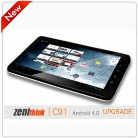 Taff Light Tab C91 Upgrade 10 Inch Capacitive Screen A9 CPU 1GHZ (14 Days) - Black