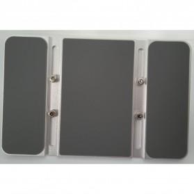 Dudukan Laptop Vertical Stand Holder Aluminium Adjustable - AF-26D - Silver - 8