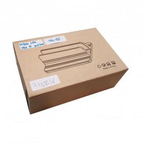 Dudukan Laptop Vertical Stand Holder Aluminium Adjustable - AF-26D - Silver - 9