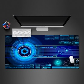 Cooltoday Gaming Mouse Pad Desk Mat 80 x 30 cm Waterproof - LN001 - Black