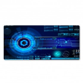 Cooltoday Gaming Mouse Pad Desk Mat 80 x 30 cm Waterproof - LN001 - Black - 2