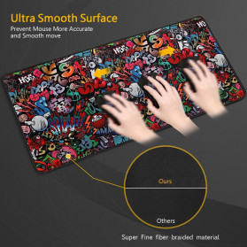 EASYIDEA Gaming Mouse Pad Desk Mat RGB Version 300 x 250 mm - EI25 - 4