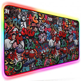 EASYIDEA Gaming Mouse Pad XL Desk Mat RGB Version 700 x 300 mm - EI25 - 2