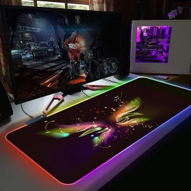 Mairuige Gaming Mouse Pad Illuminated LED RGB 800x300mm - RGB-02