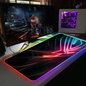 Mairuige Gaming Mouse Pad Illuminated LED RGB 800x300mm - RGB-03 - 1