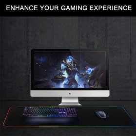 Mairuige Gaming Mouse Pad Illuminated LED RGB 800x300mm - RGB-03 - 6