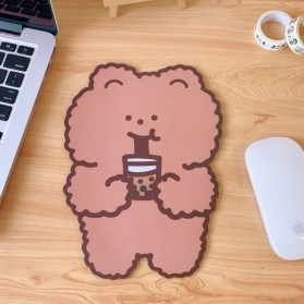 EASYIDEA Mouse Pad Korea Anti Slip Model Chocolate Bear - EI26 - Brown