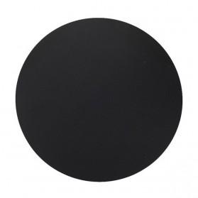 ESHYLALA Aluminum Mouse Pad Smooth Thin Circle - SKY-054 - Black - 3