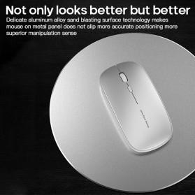 ESHYLALA Aluminum Mouse Pad Smooth Thin Circle - SKY-054 - Black - 5