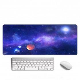 OLEVO Gaming Mouse Pad XL Desk Mat Galaxy 800 x 300 mm - RO24 - Galaxy Black