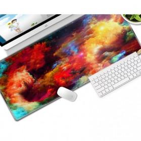 OLEVO Gaming Mouse Pad XL Desk Mat Galaxy 800 x 300 mm - RO25