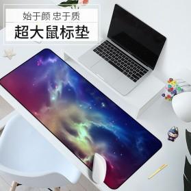 OLEVO Gaming Mouse Pad XL Desk Mat Galaxy 800 x 300 mm - RO25 - 2